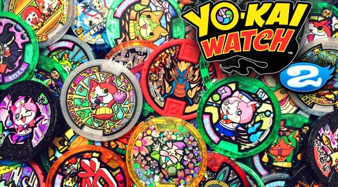 Every Yo-Kai Medal for 2016