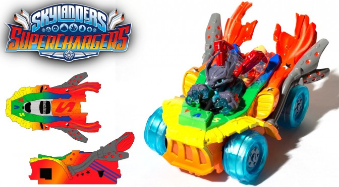 F1 & Top Gear Stars Redesign Skylanders for Make a Wish Charity