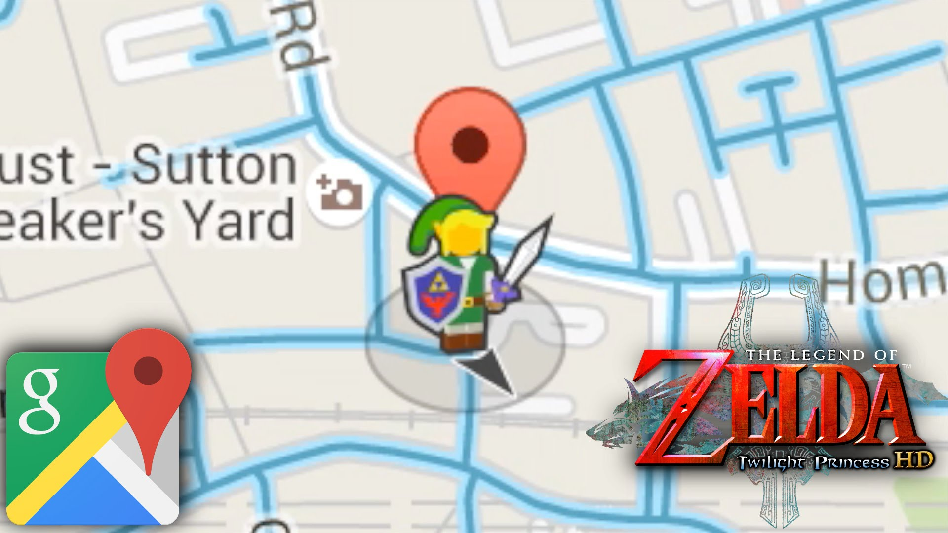 Google Maps Gets Link Guide for Zelda Twighlight Princess