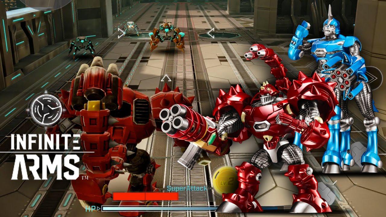 Infinite Arms – First Look (MetaMods, Gameplay, Toys)