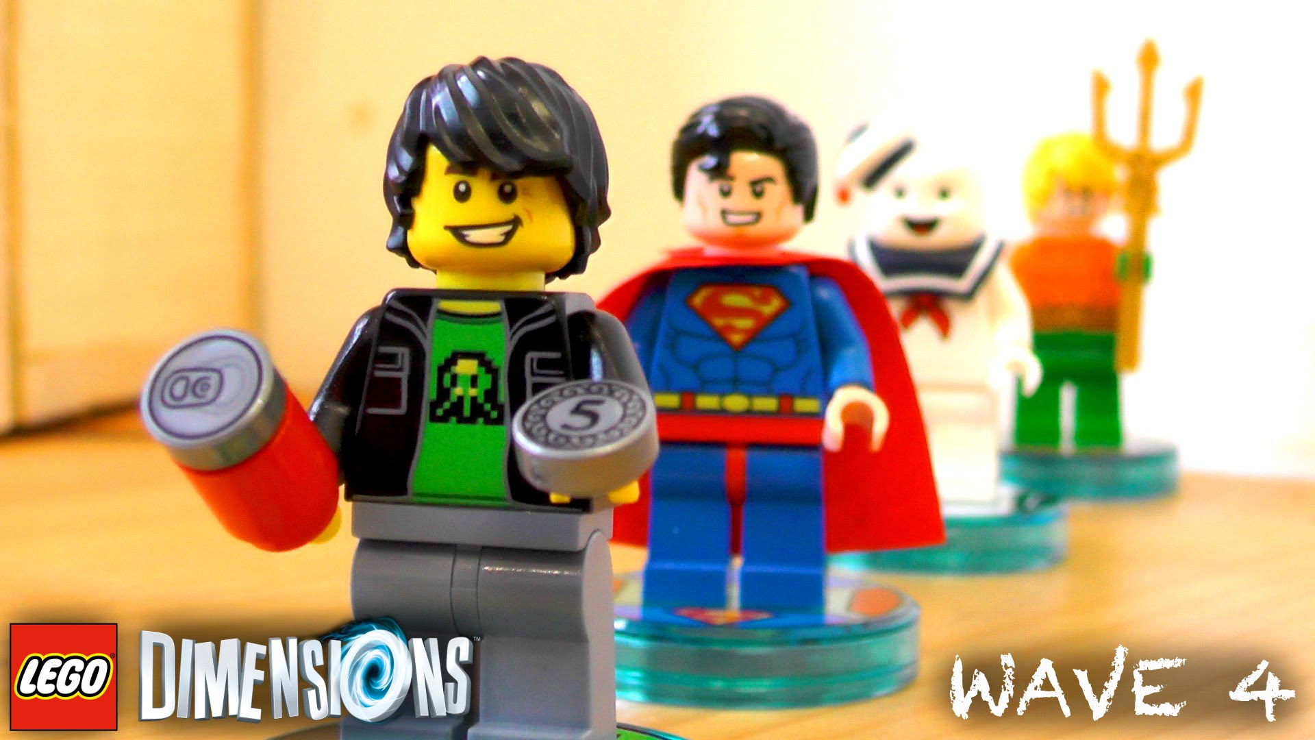 Lego Dimensions Wave 4 Unboxed w/ Marvel Tease