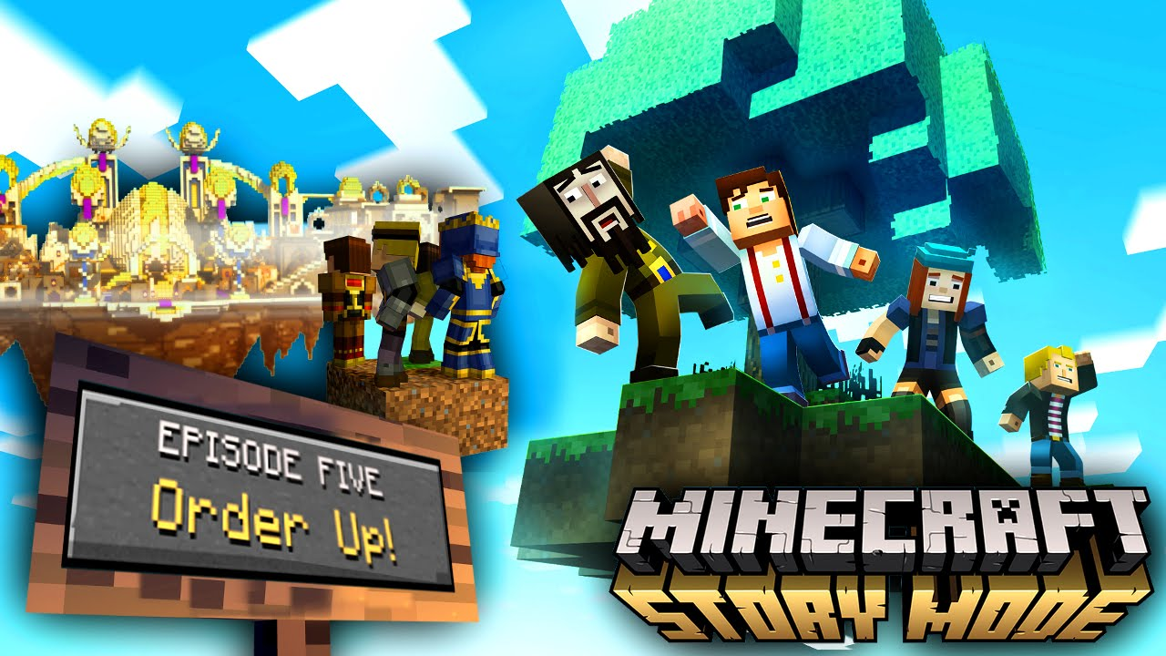 Minecraft Story Mode – Episode 5 Screens and Date, Episodes 6, 7, 8 Confirmed