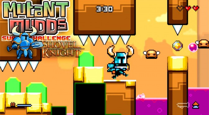 Mutant Mudds hidden Shovel Knight Official Reveal
