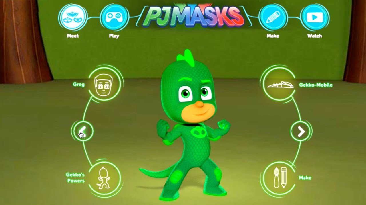 PJ Masks Character, Vehicle, Game, Craft – Website Tour