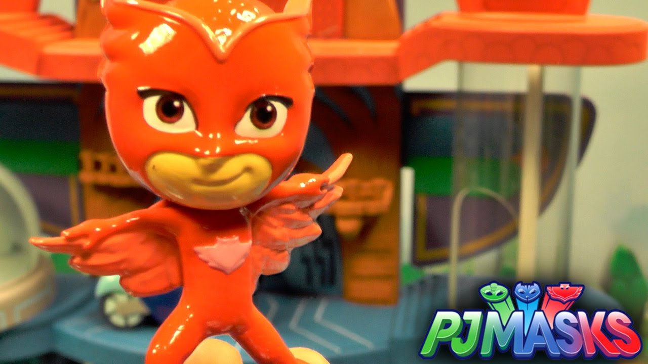 PJ Masks Toy Showcase – Figures, Heroes & Villains