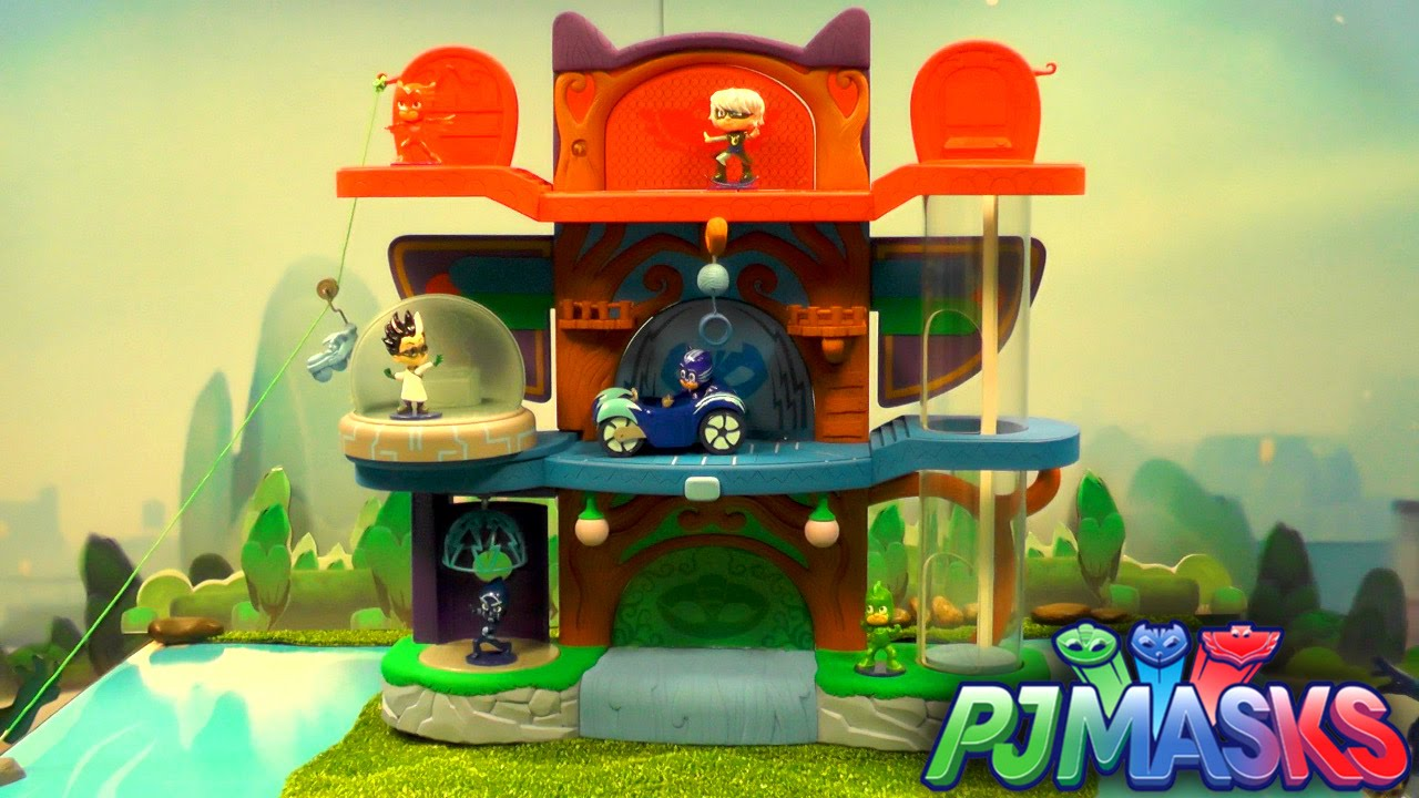 PJ Masks Toy Showcase – HQ Headquarters Lair