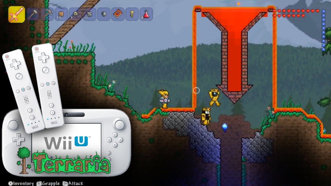 Terraria Wii U Multiplayer – Search For Hell