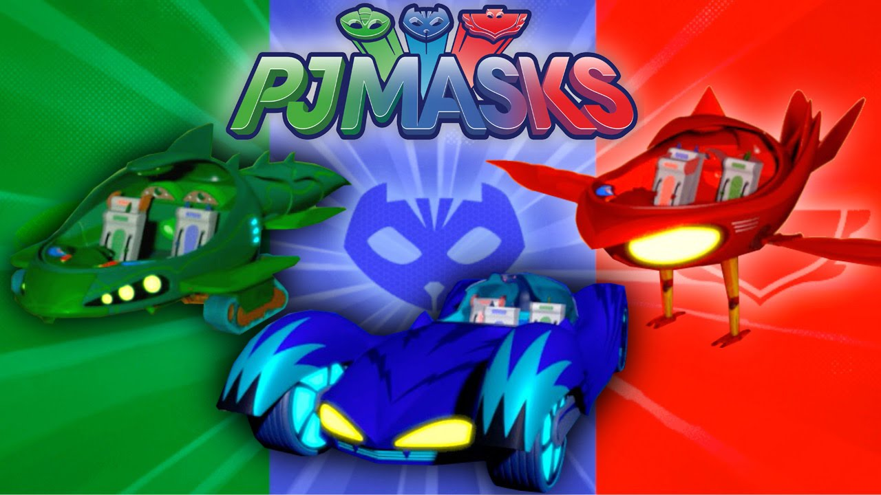 Let's Play PJ Masks Vehicle Challenge Game