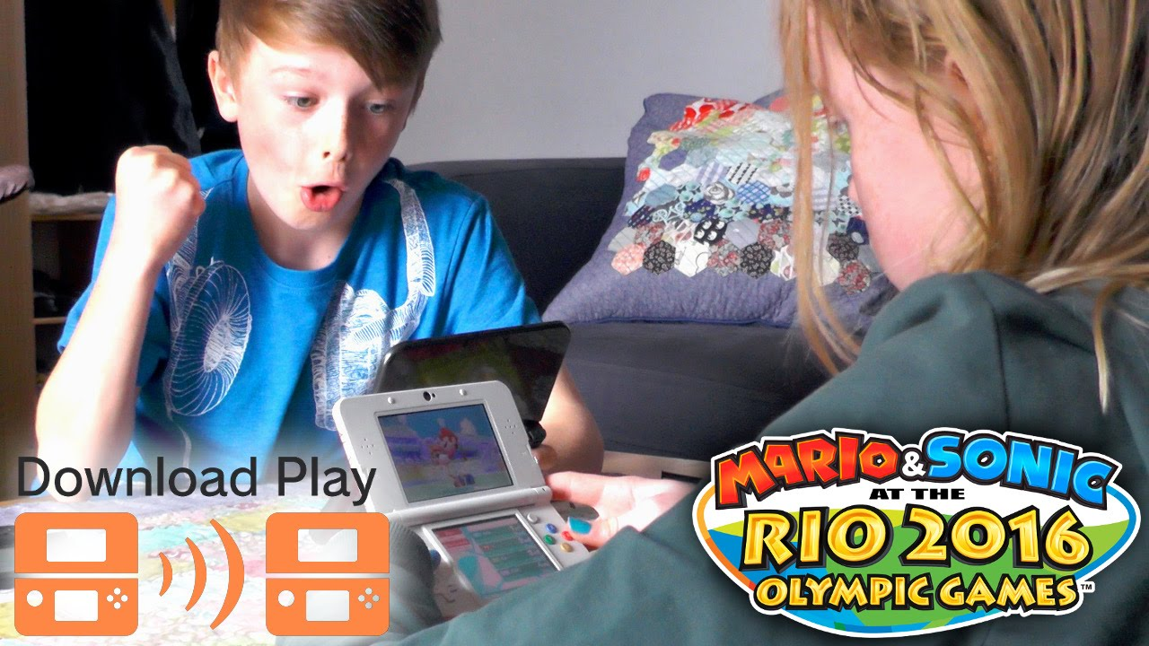 Mario & Sonic at the Rio 2016 Olympic Games – Download Play, Mii Features