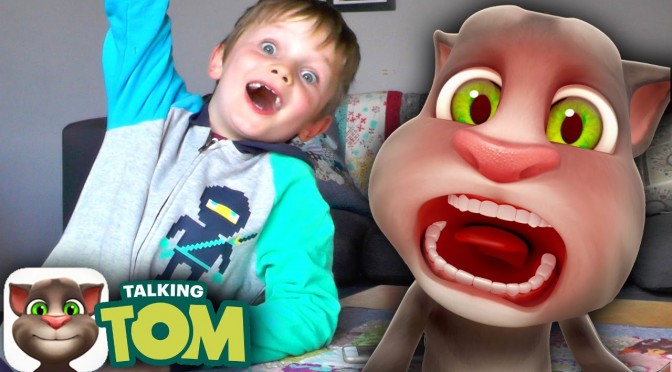 NEW! Talking Tom Cat app – Relaunch Exclusive First Laugh!
