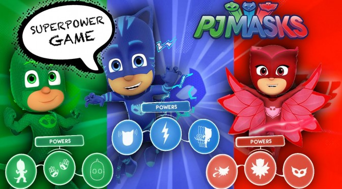 "Let's Play ""PJ Masks"" Super-Power Game  (Gekko, Owlette & Cat Boy)"