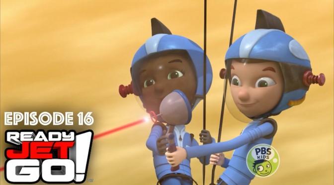 Ready Jet Go Episode 16  (Sneak Peek) Solar System Bake-off/Kid Dart Derby