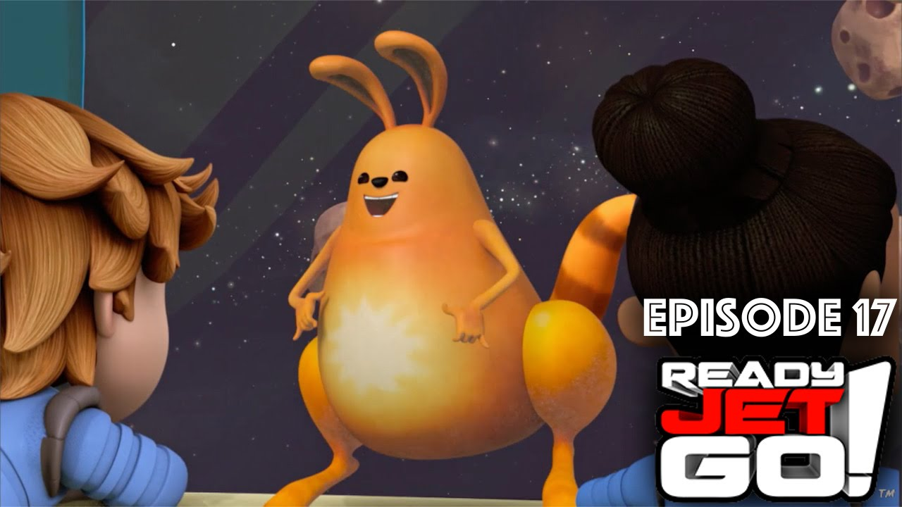 Ready Jet Go Episode 17  (Sneak Peek) Asteroids, Meteors and Meteorites / Mindy's Meteorite Stand