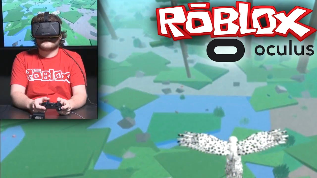 ROBLOX on Oculus Rift VR – Hands On Gameplay & CEO Interview