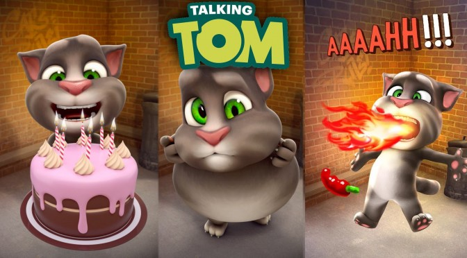 Talking Tom Cat app New Animations
