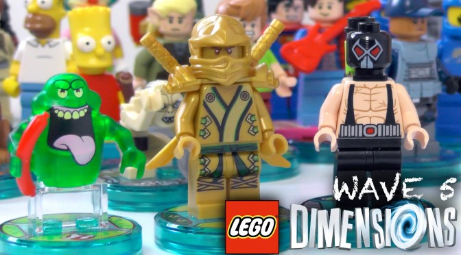 Lego Dimensions Wave 5 – Complete Minifigure Collection (w/ Disney Infinity Cancellation Thoughts)