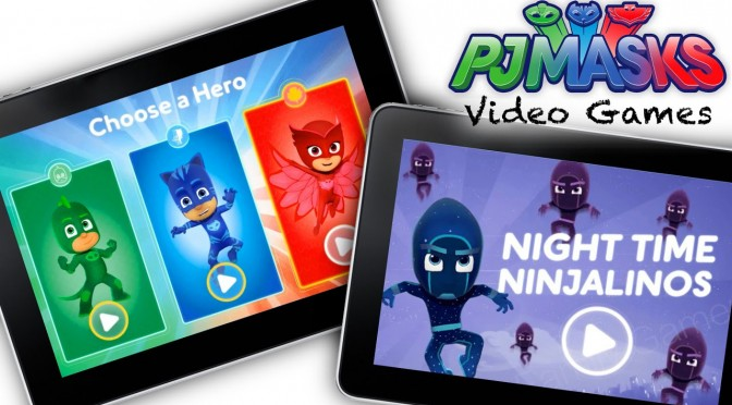 Let's Play PJ Masks Video Game  – Hero Training & Night Time Ninjalinos