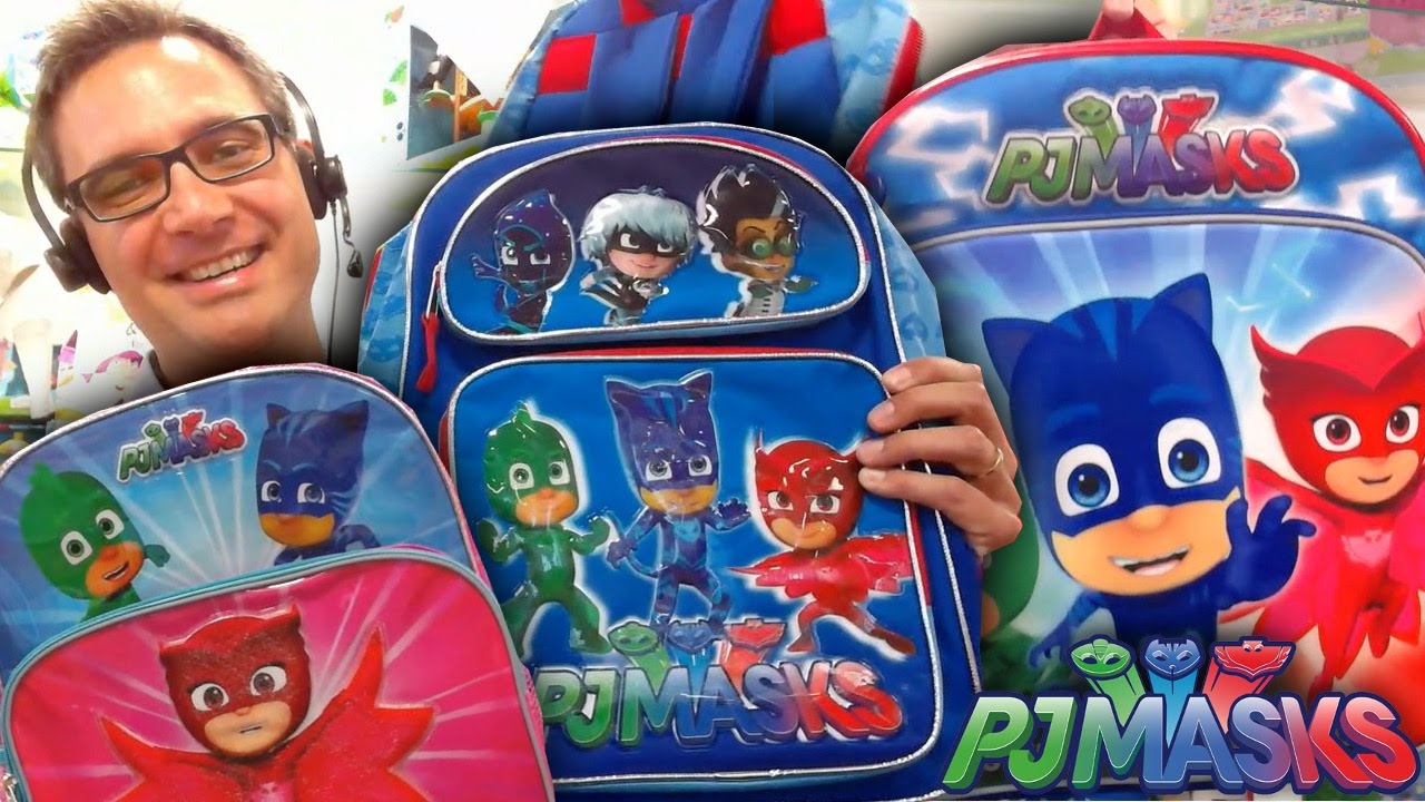NEW! PJ Masks Official Backpacks, Toys, Games and Outfits – Part #1