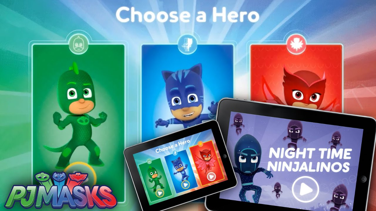 PJ Masks Video-Game Official Reveal (iOS/Web/Android)