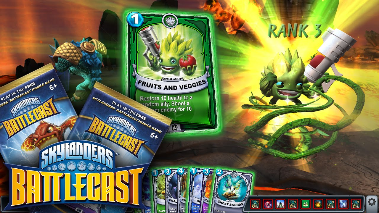 Skylanders Battlecast Launch – Packs, In App Purchases, Rarity