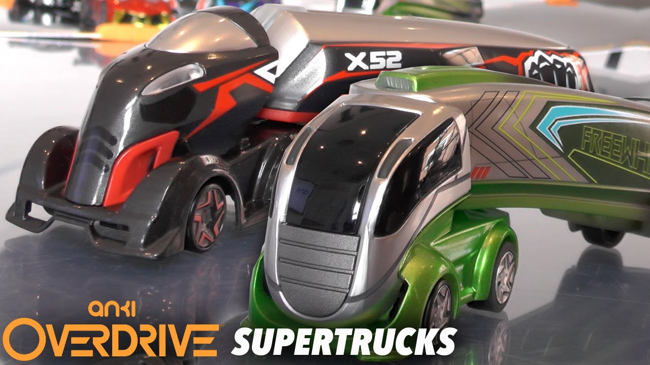 Anki Overdrive Supertrucks – X52 & Freewheel Unboxed and Tested