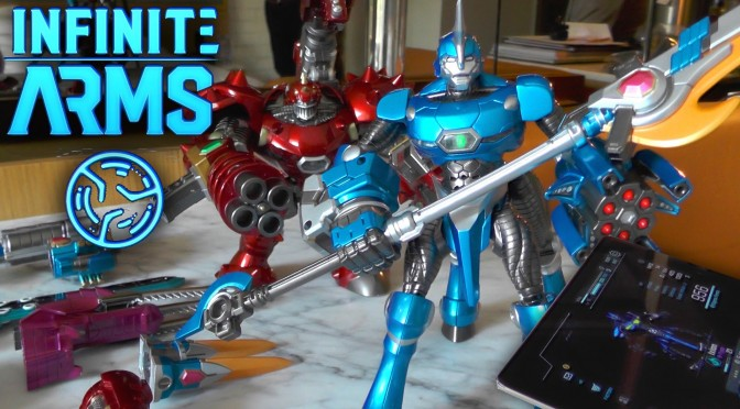 Infinite Arms Reboots Toys To Life Exclusive E3 Toys And Game
