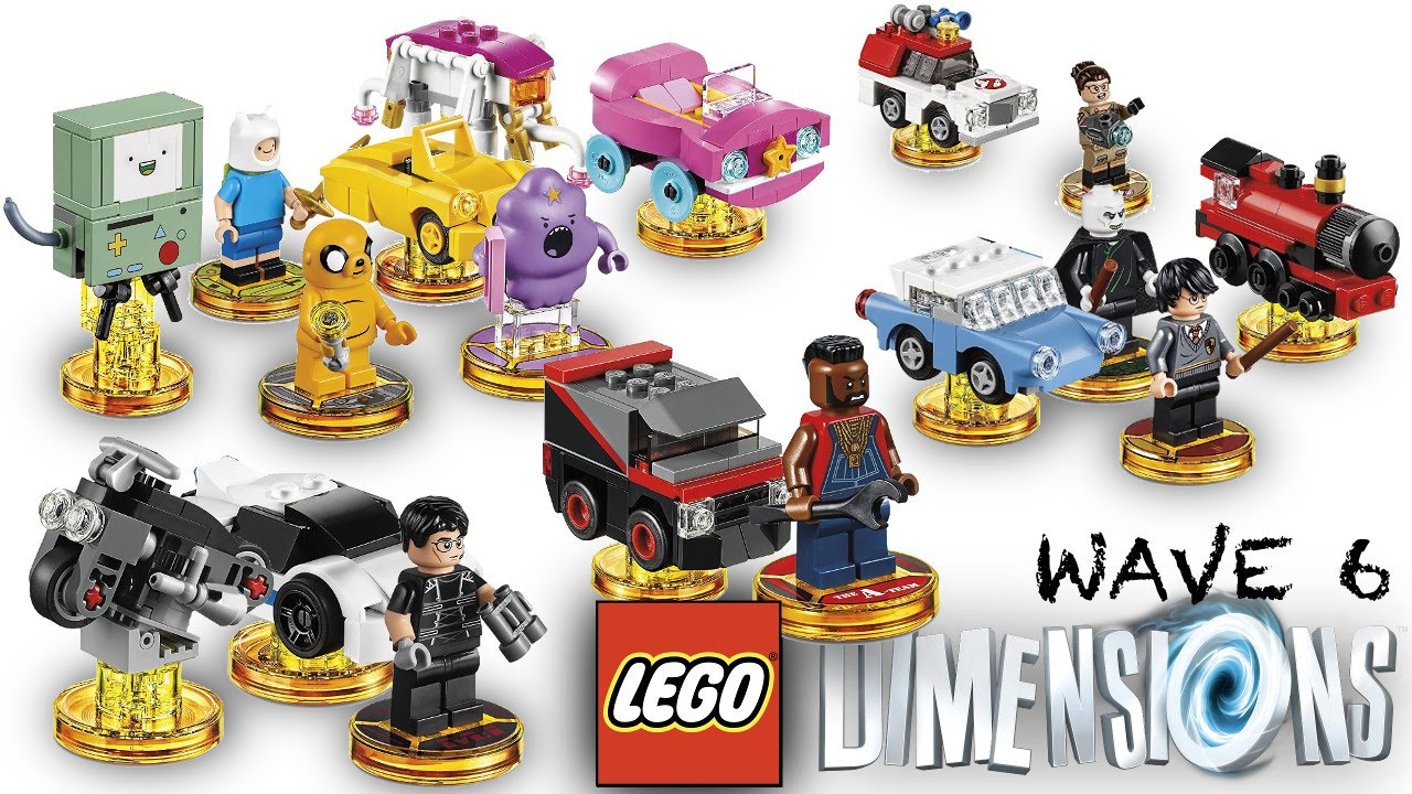 Lego Dimensions Wave 6 (and Wave 7, 8 9 details)