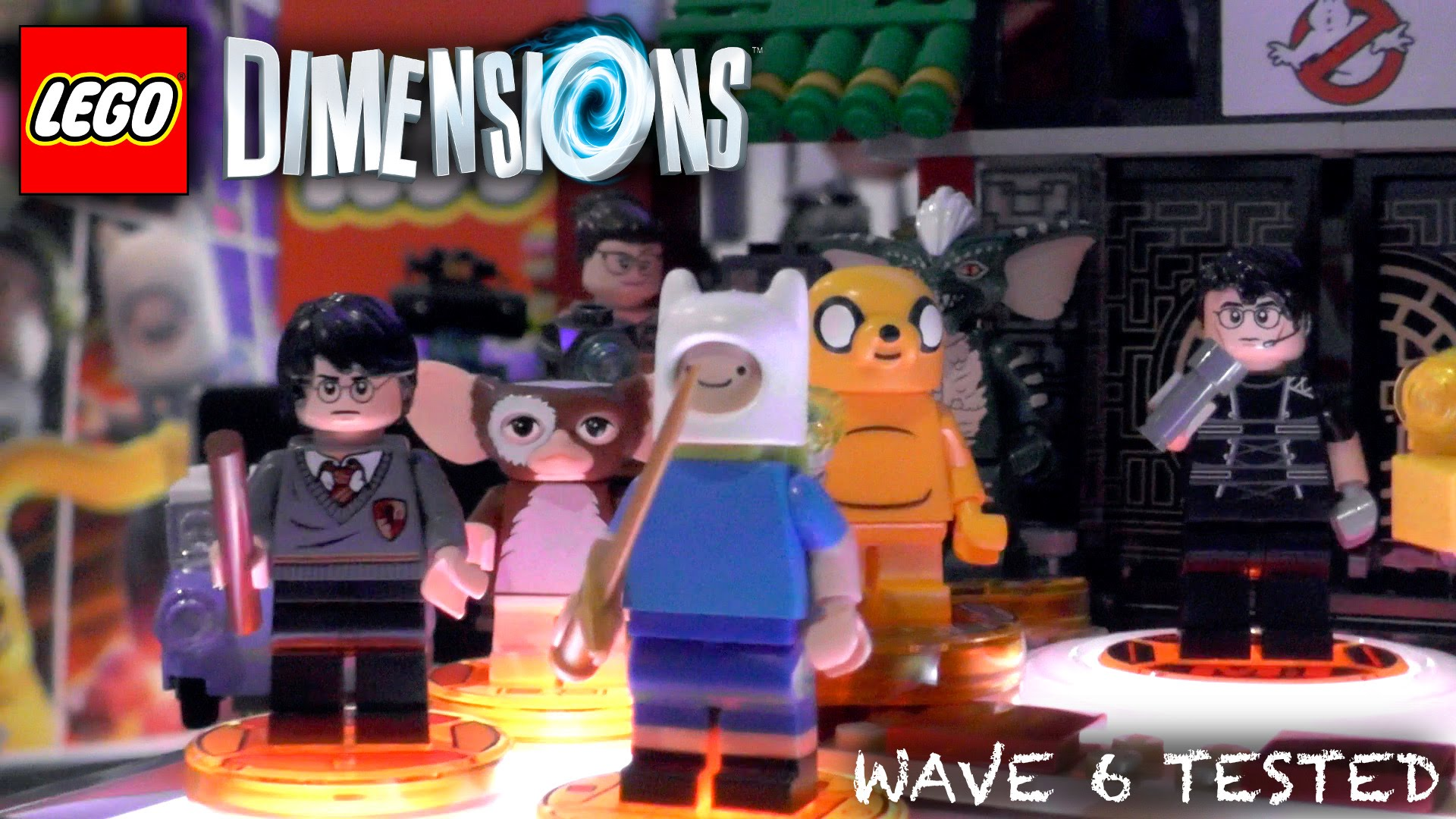 Lego Dimensions Wave 6 – Unboxed, Packaging, Gameplay