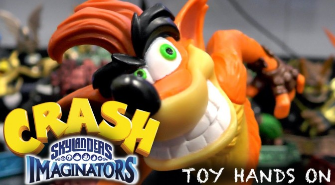Let's Play Skylanders Crash Bandicoot – E3 Hands on with Toy