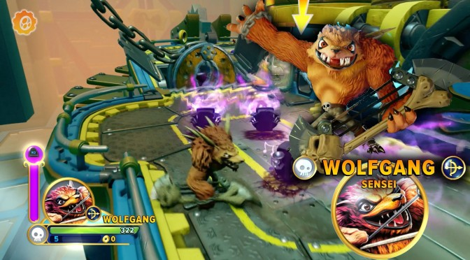 Let's Play Skylanders Imaginators w/ Wolfgang and Ambush (& Lou)