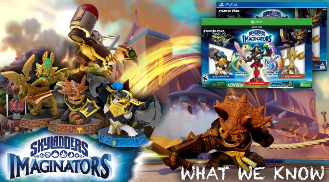 What We Know: Skylanders Imaginators (And What We Don't)