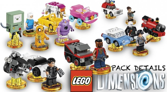 Lego Dimensions (Wave 6) – Harry Potter, Adventure Time, Story Pack Retail Image Analysis