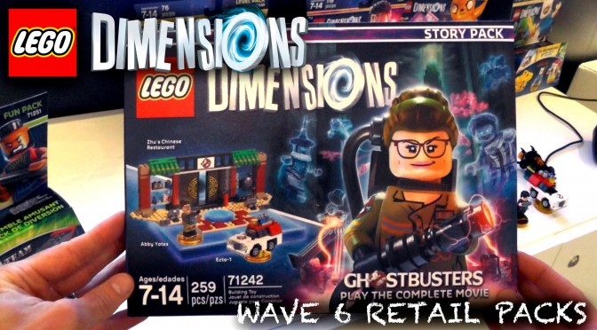 Lego Dimensions Wave 6 Retail Packaging – With Battle Arenas and Adventure Worlds