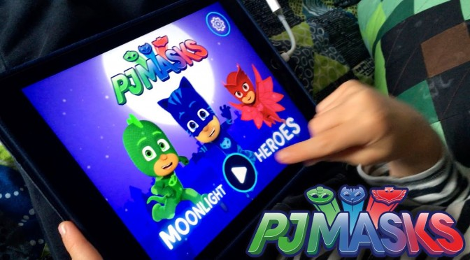 Let's Play PJ Masks Moolight Heroes – NEW! iPad Game