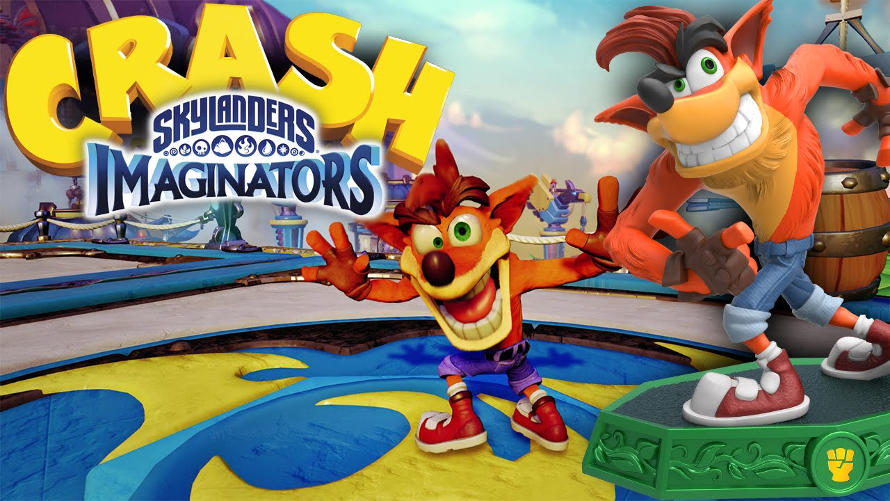 Skylanders Crash Bandicoot HD Gameplay, Attacks and Sky-Chi (Wii U, PlayStation & Xbox)