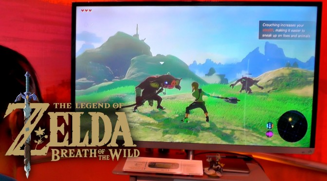 Zelda: Breath of the Wild – 15 Minutes of Story with Direct Sound