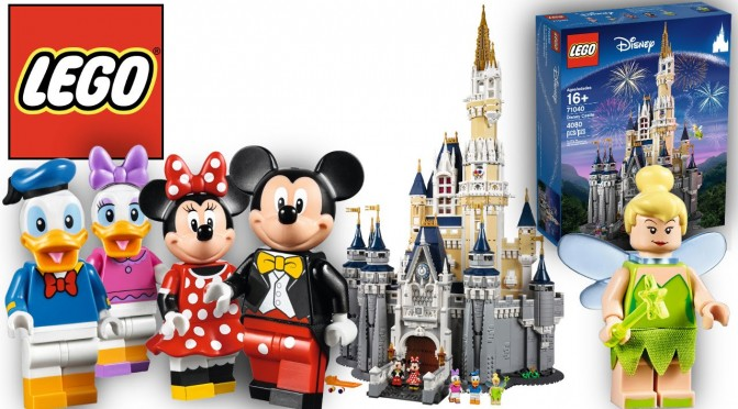71040 The Disney Castle – Build of Castle and Minifigures (Official HD Images)