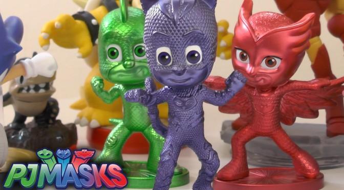 PJ Masks Toys Unboxed w/ Skylanders, Disney, Marvel (+Bonus Comp)