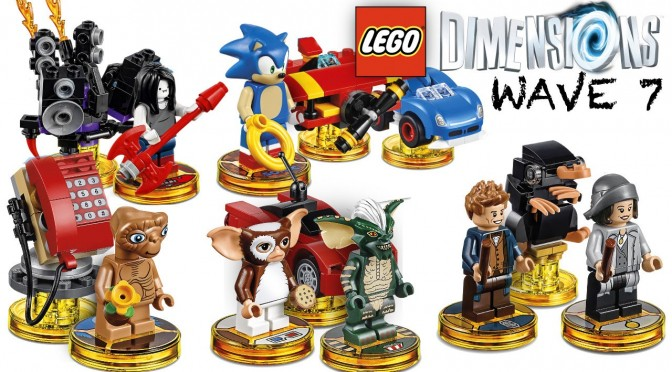 Lego Dimensions Complete Wave 7 – Gameplay, Minifigure, Ability Brickdown