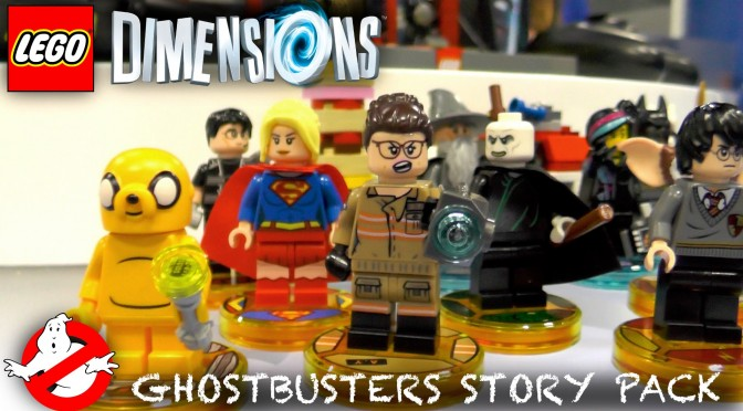 Boys Play LEGO Dimensions Ghostbusters Story Pack (Wave 6 & 7) Harry Potter, BA, Supergirl, Gremlins