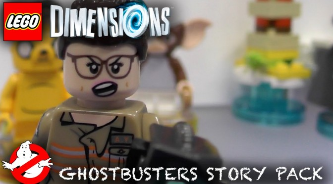 LEGO Dimensions Ghostbuster (Wave 6) – Extended Gameplay, Minifigure Heads & Packs