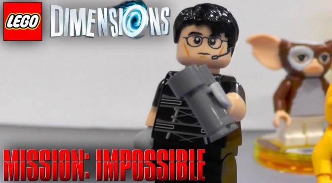 Lego Dimensions (Wave 6) Mission Impossible Gameplay, Minifigure Heads and Packs
