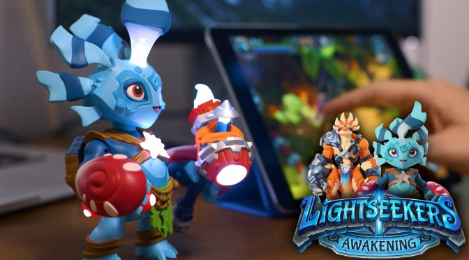 NEW! Lightseekers – Tomy's Smart Toy Video-Game (Play Fusion – Runescape Devs)