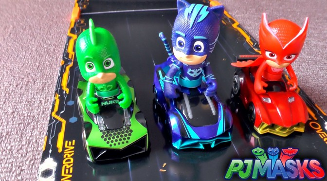 PJ Masks Suprise Race Attack – w/ Custom Anki Overdrive Toy Cars