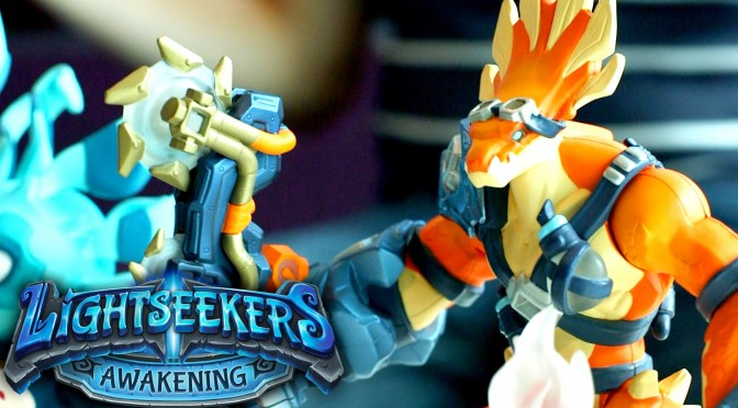Lightseekers – New Game-Play, Action Figures, Weapons