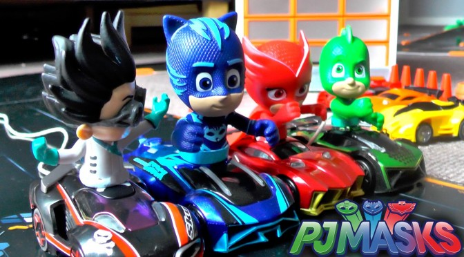 PJ Masks Romeo Race Rigging – Anki Trucks Toy Takedown