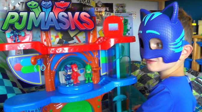 PJ Masks HQ Toy Rescue – NEW! Headquarters Playset