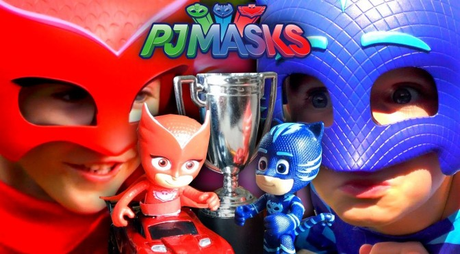 PJ Masks Toys – Owlette vs. Catboy Speed Showdown