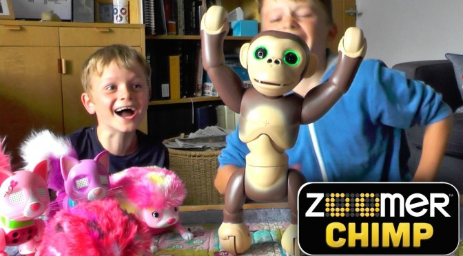 Zoomer Chimp – Huge Laughs, Fun and Mischief