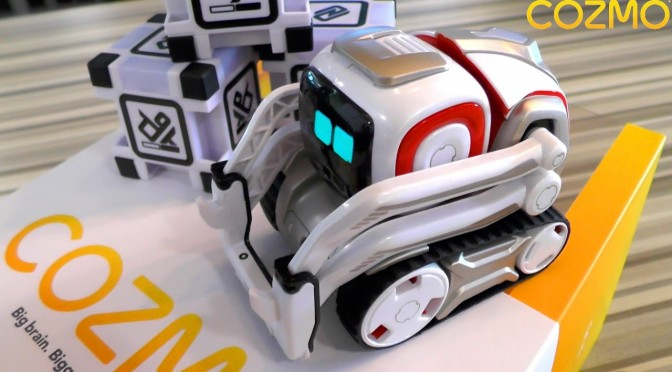 Cozmo – Day 1: Unboxing Anki's New Robot